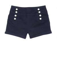 High Waist Sailor Short