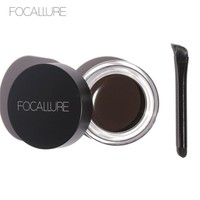 Focallure 5 Colors Eyebrow Gel Durable Eyebrow Pomade Gel Waterproof Maquiagem Makeup Eyebrow Gel with brush Eyebrow Enhancer