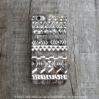 Aztec Tribal Pattern iPhone Case
