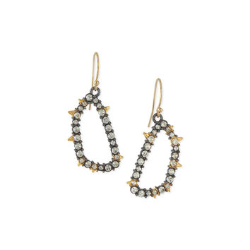 Elements Spiked Crystal Earrings - Alexis Bittar