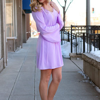 Lovely in Lavender Dress