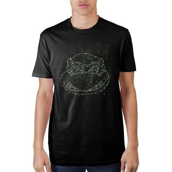 Teenage Mutant Ninja Turtles Green Constellations T-Shirt