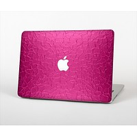 """The Stamped Pink Texture Skin Set for the Apple MacBook Air 13"""""""
