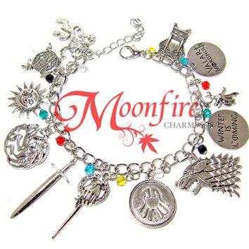 GAME OF THRONES Fandom Charm Bracelet