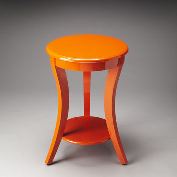 Butler Loft Holden Orange Contemporary Accent Table