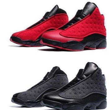 Air Jordan Retro 13 Wool plush Top Quality with Box Men Size Basketball Shoes