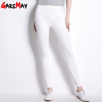 Casual Pants Tall Women Thin Bottoms Stretch Pantalon Femme Clothing High Waist Pants For Women Trousers Mujer Full Long Pant