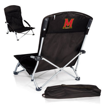 Tranquility Portable Beach Chair - Maryland Terrapins