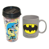 DC Comics Batman Travel Mug Set