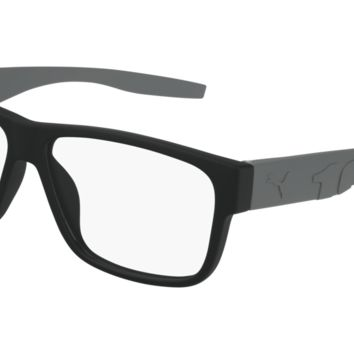 Puma - PU0231O Grey Eyeglasses / Demo Lenses