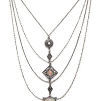 Draped Statement Necklace | Forever 21 - 1000178020