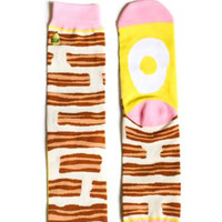 Bacon & Eggs Socks