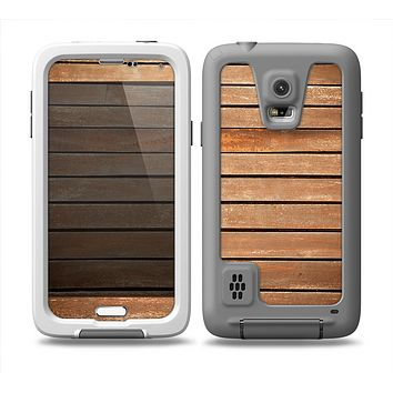 The Worn Wooden Panks Skin for the Samsung Galaxy S5 frē LifeProof Case