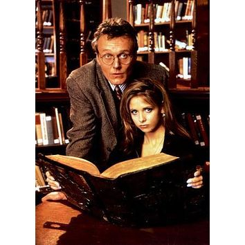 Buffy The Vampire Slayer Cast Poster Giles Buffy Library 27inx40in