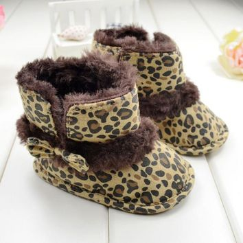 Leopard Toddler Boots