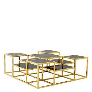 Gold Multi Level Coffee Table | Eichholtz Smythson