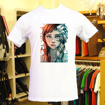 disney frozen art design for men and women t shirt cotton t shirt