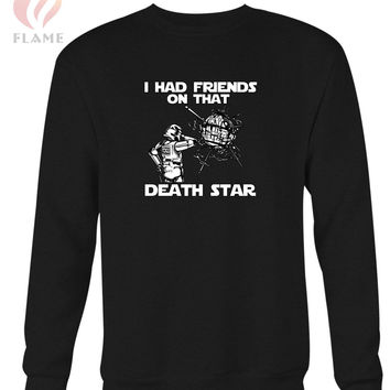 I Had Friends On That Death Star Long Sweater
