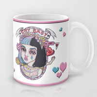 Cry Baby-Melanie Martinez Mug by Julio César