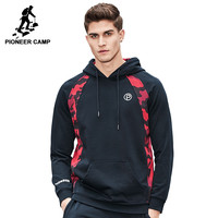 New hoodie sweatshirt men clothing fashion Camouflage patchwork hoodies men casual tracksuit male