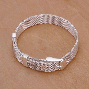 jewelry silver plated jewelry bracelet fine fashion bracelet top quality wholesale and retail SMTH237