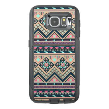 Colorful Abstract Aztec Tribal Pattern Geometric OtterBox Samsung Galaxy S6 Case