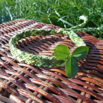friendship bracelet woven vegan green eco friendly  grass  wristband girlfriend boyfriend love best friend gift Fiber Cotton Hippie Boho