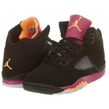Beauty Ticks Nike Air Jordan 5 Retro Ps Girls Basketball Shoes 440893-067 Jordans Shoes For Girl