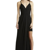 Cross-Front Maxi in Black - BCBGeneration