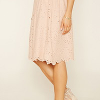 Contemporary Eyelet Skirt