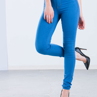 In And Out High-Waisted Jeggings