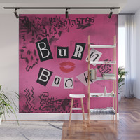 The ORIGINAL Burn Book design from the movie Mean Girls Wall Mural by allier