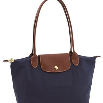 Longchamp 'Small Le Pliage' Tote - Blue