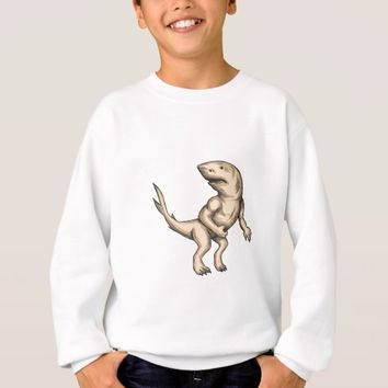 Nanaue Fighting Stance Tattoo Sweatshirt