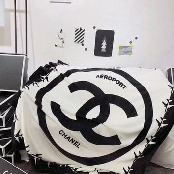 DCCKFM6 CHANEL Conditioning Throw Blanket Quilt For Bedroom Living Rooms Sofa