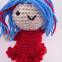Crochet Amigurumi Plush Toy Doll