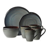 Gourmet Basics by Mikasa® Riley 16-Piece Dinnerware Set