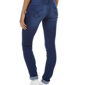 RIDERS BY LEE BUMSTER SKINNY WOMENS JEAN - BLUE AFFAIR