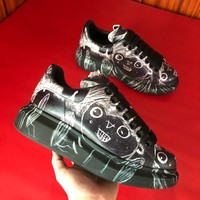 Alexander McQueen  Men Casual Shoes Boots popularable casual leather