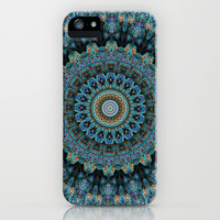 Spiral Eye iPhone & iPod Case by Elias Zacarias