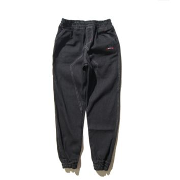 Supreme brand new wave of men 's denim trousers Bundle straight jeans