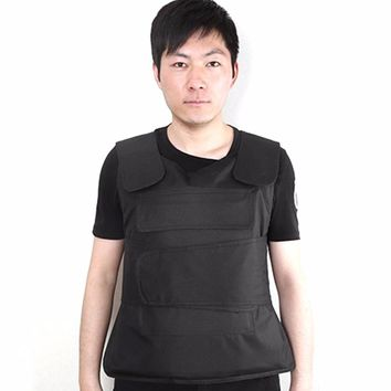 LESHP Flexible Concealable Aramid Tactical Outdoor Labor Protection Bulletproof Vest Covert Ballistic Vest Utility & Safety