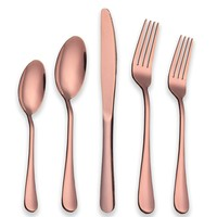 Rose Gold Reflection 20-PC Service For 4 Flatware SET