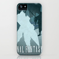 Vector Final Fantasy VII iPhone & iPod Case by LoweakGraph