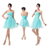 2014 Stock Short Formal Cocktail Party Prom Bridal Gown Evening Homecoming Dress