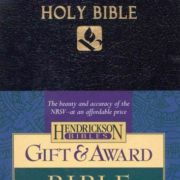 Holy Bible: New Revised Standard Version, Gift & Award, Black