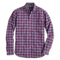 Secret Wash shirt in large two-color gingham - washed shirts - Men's shirts - J.Crew