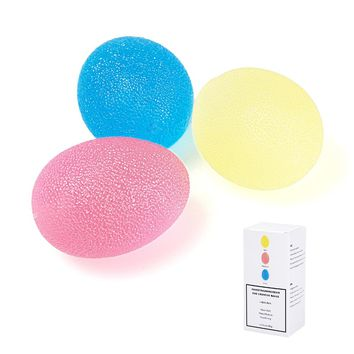 Grip Strengthening Therapy Stress Exercise Balls