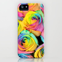 Rainbowlicious iPhone & iPod Case by Lisa Argyropoulos