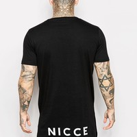 Nicce T-Shirt With Dropped Back Logo